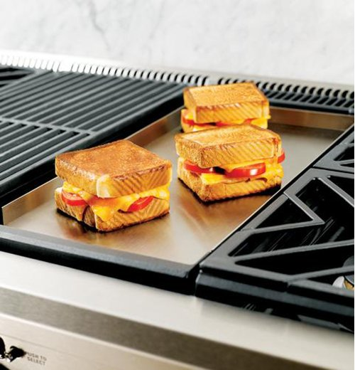 """GE Monogram® 48"""" All Gas Professional Range with 6 Burners and Griddle (Liquid Propane)"""