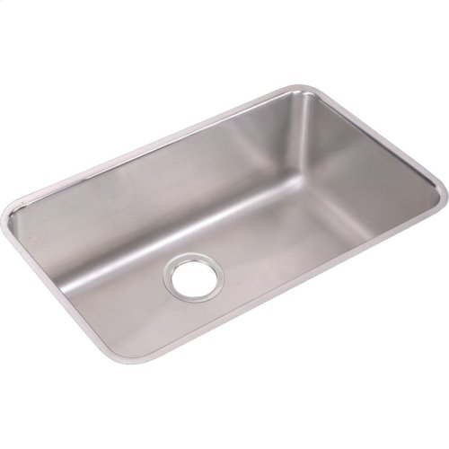 """Elkay Lustertone Classic Stainless Steel 30-1/2"""" x 18-1/2"""" x 10"""", Single Bowl Undermount Sink and Faucet Kit"""