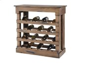 Wine Storage Chest - Denim on Toffee Finish Product Image
