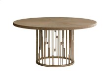 Rendezvous Round Dining Table With Wooden Top