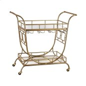 Mirrored Server Bar Cart