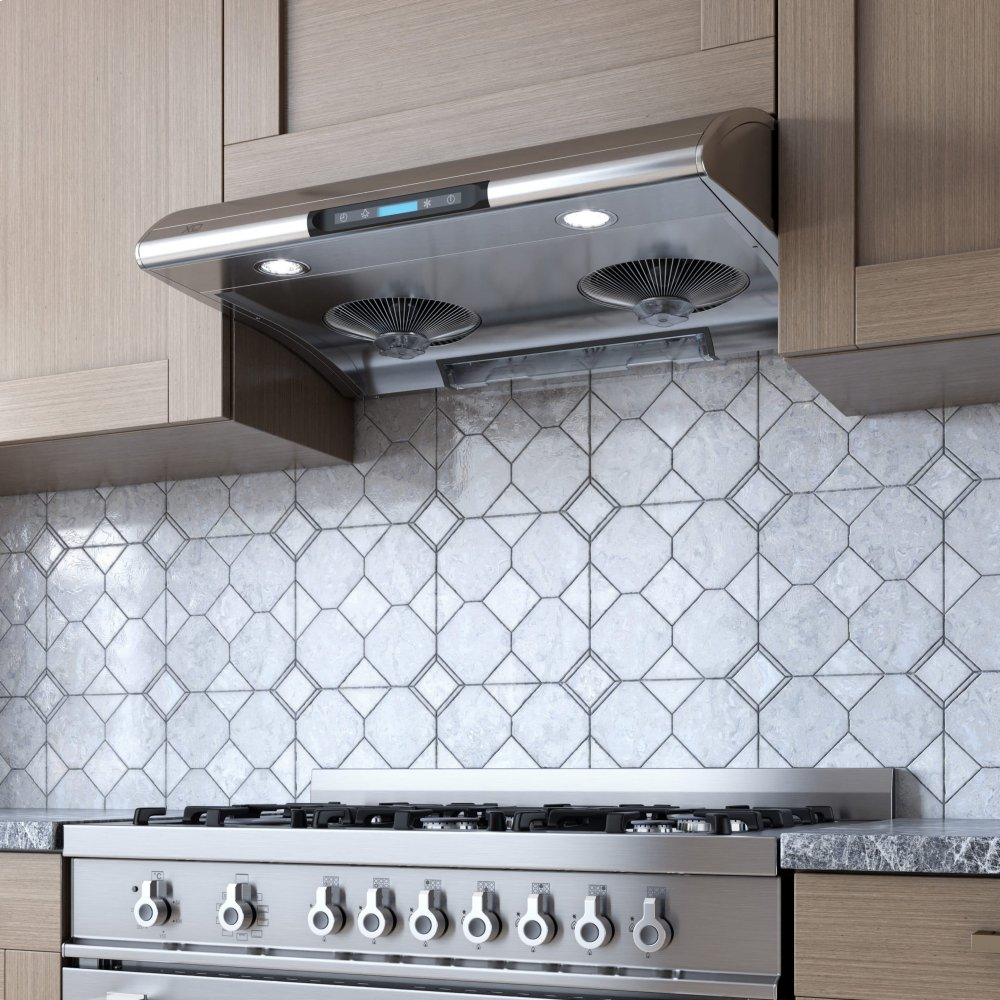 "Xo Kitchen: XOA30S Xo Ventilation 30"" 550 CFM XOA Series Under Cabinet"
