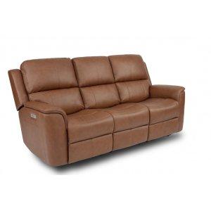 FlexsteelHenry Power Reclining Sofa with Power Headrest and Power Lumbar
