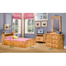 Twin Bookcase Mates Bed