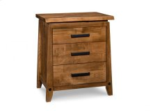 Pemberton 3 Drawer Nightstand