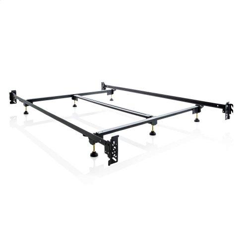 Steelock Adaptable Hook-In Headboard Footboard Bed Frame - King