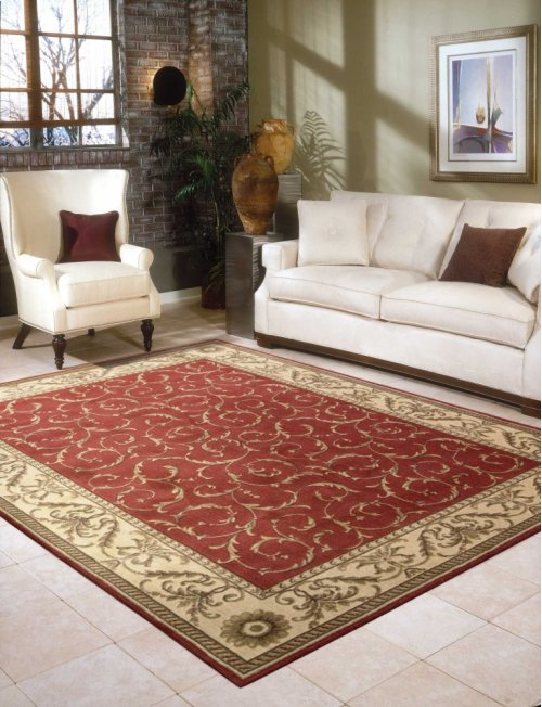 Somerset St02 Red Rectangle Rug 7'9'' X 10'10''