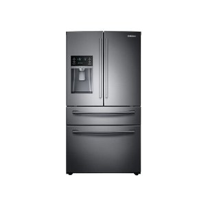28 cu. ft. 4-Door French Door Refrigerator in Black Stainless Steel -