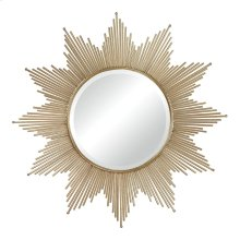 METAL STARBURST MIRROR