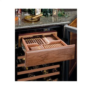MarvelHumidrawer™ Cigar Compartment