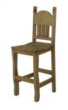 "30"" Barstool W/Wood Seat Product Image"
