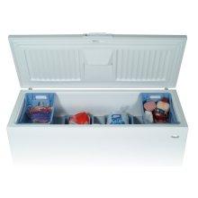 White-on-White 21.7 Cu. Ft. Chest Freezer