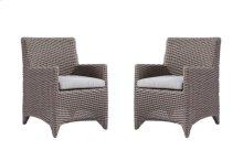 Emerald Home Reims Dining Chair Spuncrylic Brick Grey (2/ctn) Od1207c-20-03