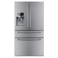 28 cu. ft. French Door Refrigerator (This is a Stock Photo, actual unit (s) appearance may contain cosmetic blemishes. Please call store if you would like actual pictures). This unit carries our 6 month warranty, MANUFACTURER WARRANTY and REBATE NOT VALID with this item. ISI 33386