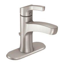 Danika spot resist brushed nickel one-handle bathroom faucet
