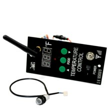 Wifi Retrofit Kit w/ Low Pellet Alarm & Meat Probe