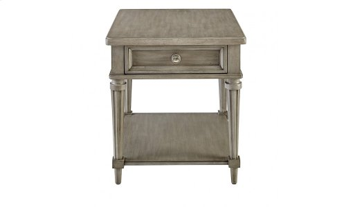 Morrissey Kirke End Table - Smoke