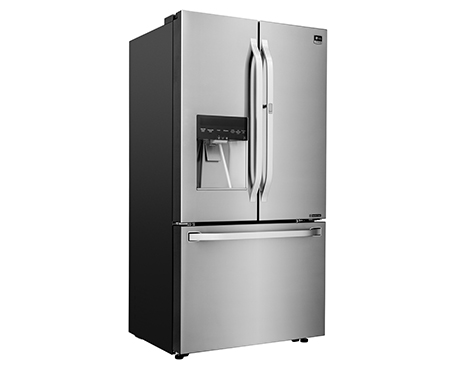 ... LG Studio Series   Large Capacity Counter Depth 3 Door French Door  Refrigerator With Door ...