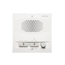 Outdoor Remote Station for 3-Wire Intercom systems, 5-1/2w x 5-1/2h, projects 4-3/8 from wall in White