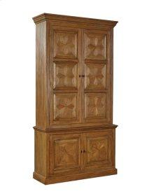 Snowflake Brass Cabinet