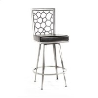 Luca Swivel Barstool, Honey Product Image
