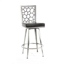 Luca Swivel Barstool, Honey