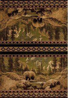 Contours/cem Scenic Bear Beige Rugs