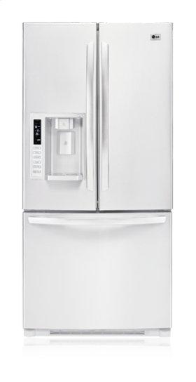 3-Door French Door Refrigerator with Ice and Water Dispenser (22.6 cu.ft.)