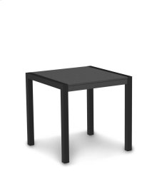 "Textured Black & Slate Grey MOD 30"" Dining Table"