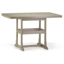 """42""""x60"""" Counter Table"""