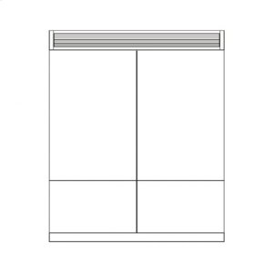 "Fulgor MilanoTwo 36"" Pro Fridges Installation Kit"