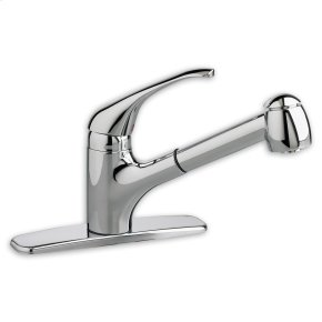 Reliant + 1-Handle Pull-Out Kitchen Faucet - Stainless Steel