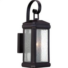 Trumbull Black Outdoor Lantern