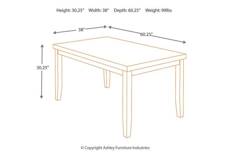 Hidden Additional Rectangular Dining Room Table