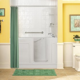 Acrylic Luxury Series 32x60 Whirlpool System Walk-in Tub, Right Drain  American Standard - White