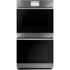 "Cafe27"" Built-In Double Electric Convection Wall Oven"