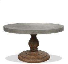 Sherborne Table Base 86 lbs Natural Concrete finish