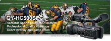 SPORTS PRODUCTION & COACHING CONNECTED CAM™ 1-INCH CAMCORDER