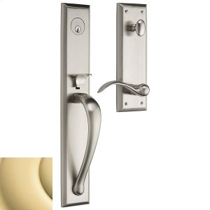 Non-Lacquered Brass Cody Full Handleset Product Image