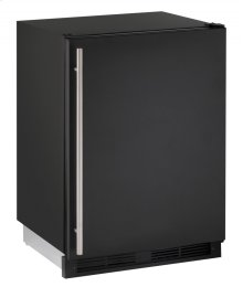 """1000 Series 24"""" Combo® Model With Black Solid Finish and Field Reversible Door Swing (115 Volts / 60 Hz)"""
