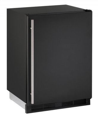 "1000 Series 24"" Combo(r) Model With Black Solid Finish and Field Reversible Door Swing (115 Volts / 60 Hz)"