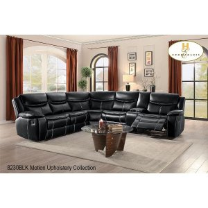 Motion Right Side Loveseat with Console