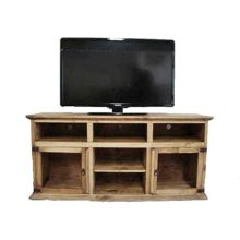 "60"" 2 Glass Door TV Stand"