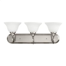 Stafford Collection Stafford 3 Light Bath Light in Antique Pewter