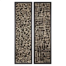 TY Canyon Handmade Paper Wall Decor - Ast 2