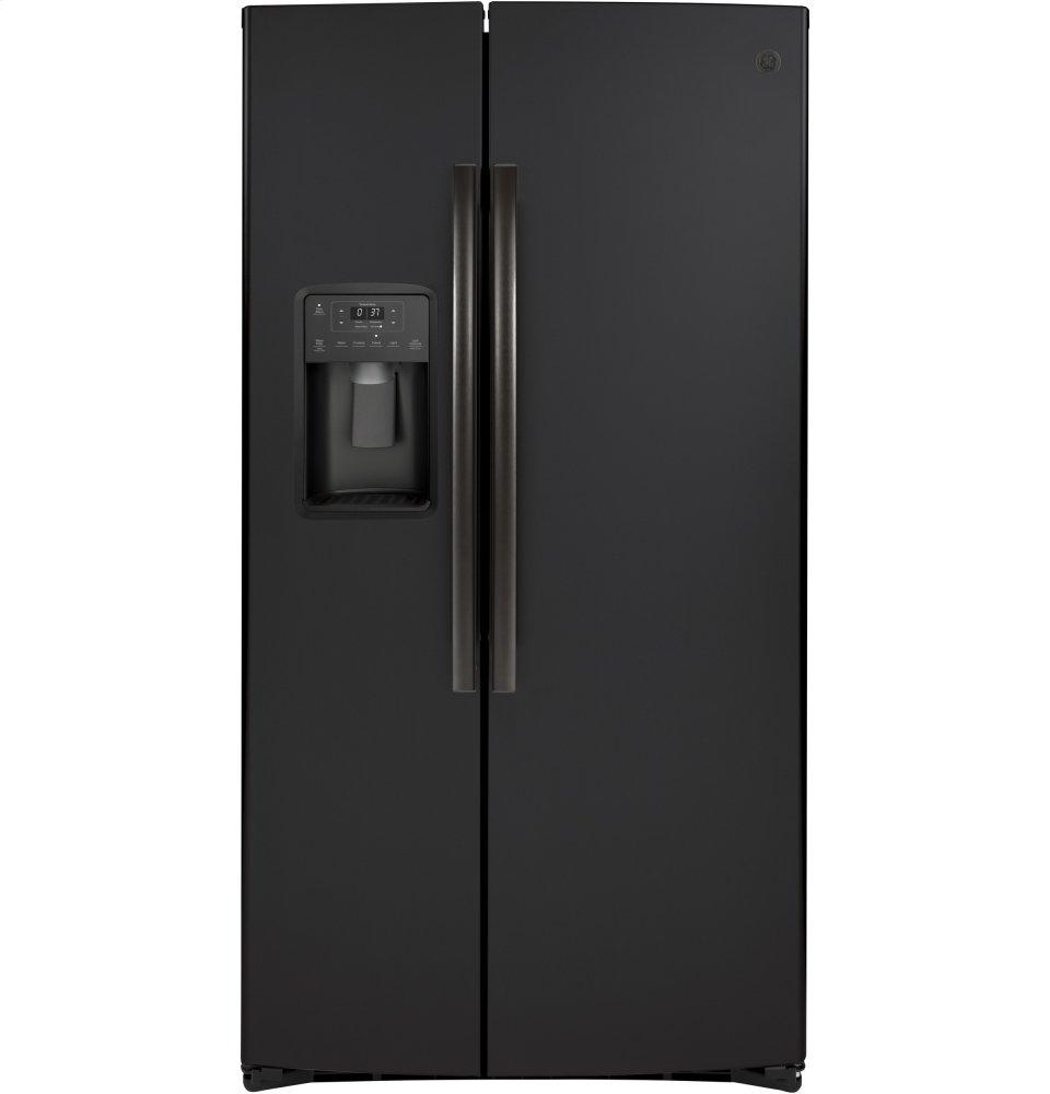 GE25.1 Cu. Ft. Side-By-Side Refrigerator