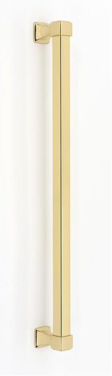 Cube Appliance Pull D985-18 - Polished Brass