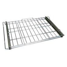 LG Range gliding oven rack