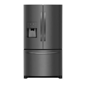 26.8 Cu. Ft. French Door Refrigerator - BLACK STAINLESS STEEL
