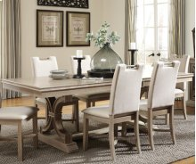 Sonoma Dining Table Taupe Gray
